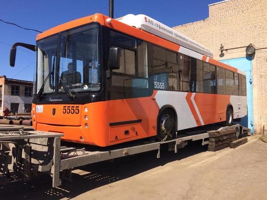 Пять троллейбусов нового поколения пополнят ивановский автопарк