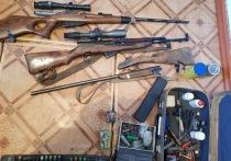 Более 90 единиц оружия изъяли в рейдах полицейские Забайкалья