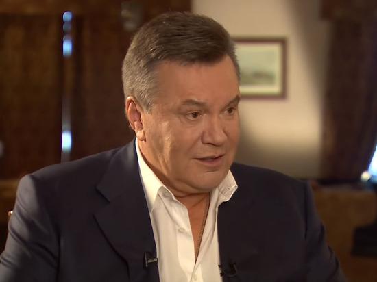 Янукович поздравил Зеленского с победой
