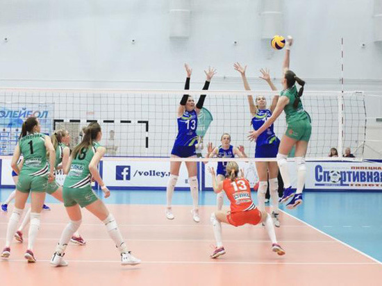 Волейбольный клуб «Липецк» завершил первенство России на 5 месте