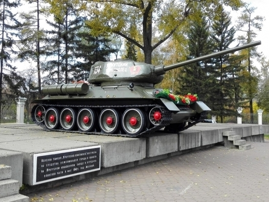 В реестр памятников Иркутской области внесли танк и памятник Ленину