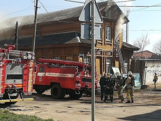 В Рыбинске сгорела психиатрическая больница