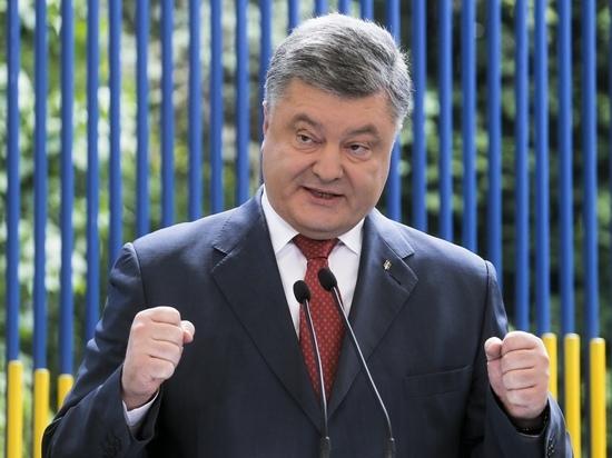 Порошенко заявил о намерении вновь баллотироваться в президенты
