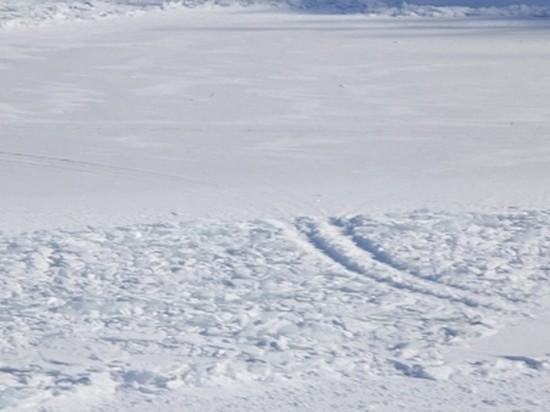 Спасателей Братска вызывали на лёд для эвакуации сломавшейся машины
