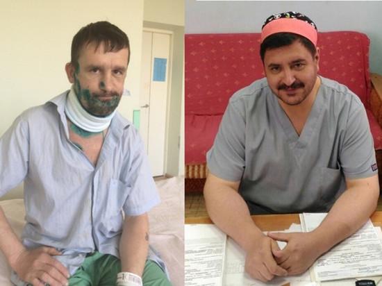 Красноярские врачи спасли рабочего с перерезанным горлом