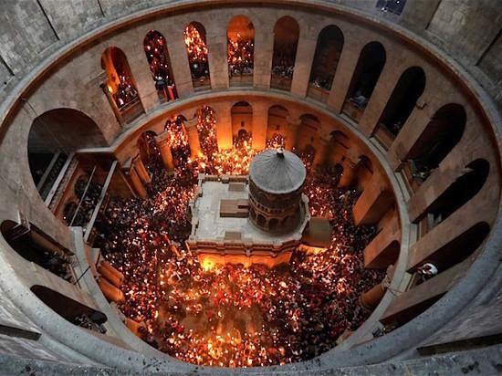 В Мордовию доставят благодатный огонь из Иерусалима