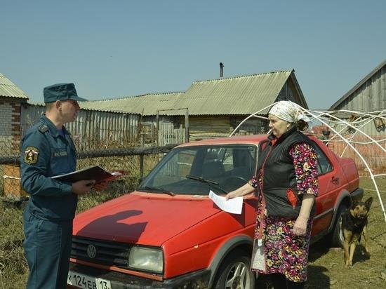 Жителей Мордовии начали штрафовать за поджоги травы и мусора