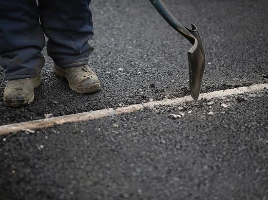 Под Волгоградом ремонтируют 11,8 километра федеральной трассы