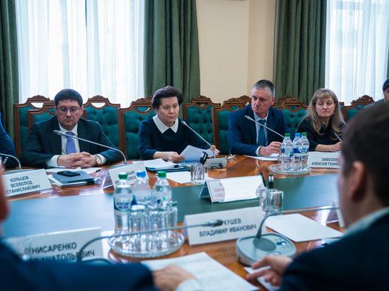 Наталья Комарова предложила «фронтовикам» принять участие в реализации национального пректа