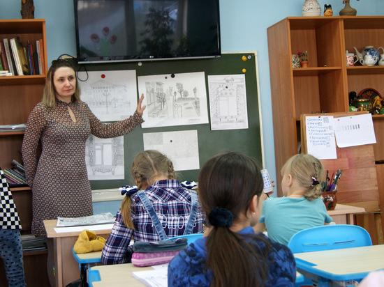 В детском центре «Бригантина» взращивают юных художников