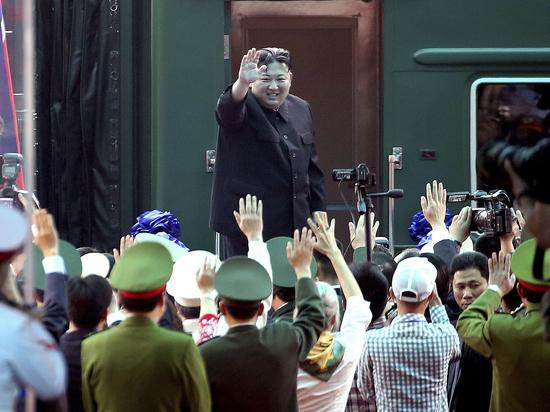 Появилось видео прибытия главы КНДР в Россию