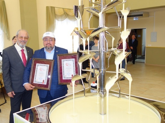 Акция была посвящена 80-летию комбината, являющегося одним из лидеров в своей отрасли по стране