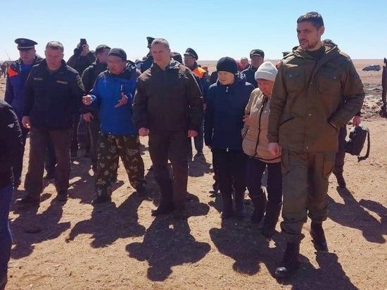 Погорельцы из села Забайкалья озвучили свои проблемы Трутневу