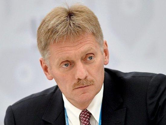 Песков рассказал про тактику Путина в общении с Зеленским