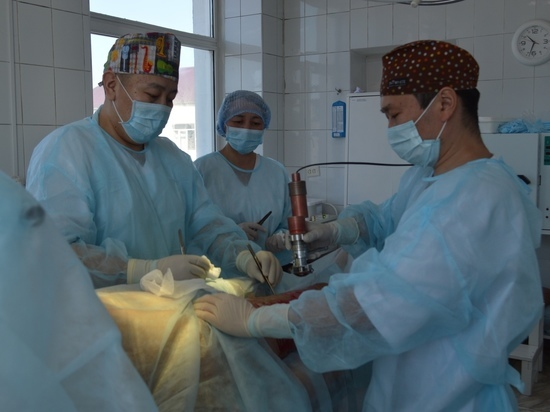 В Туве врачи спасли лицо годовалого малыша, который обжегся  кипятком