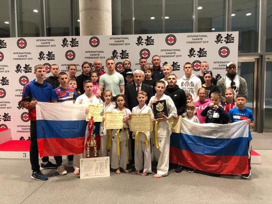 Хабаровские спортсмены стали чемпионами мира по киокусинкай