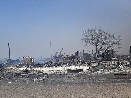 Осипов объяснил Путину тяжелые последствия от пожаров в Забайкалье