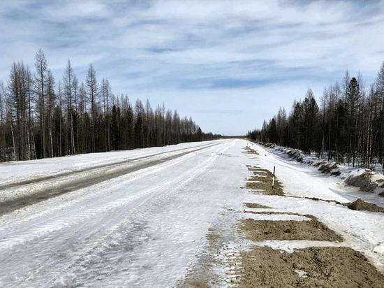 Дорогу Старый Надым – Надым готовят к весеннему паводку