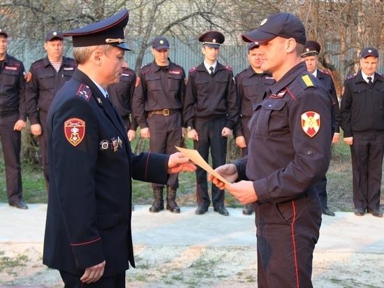 В Курской области определена лучшая группа задержания Росгвардии