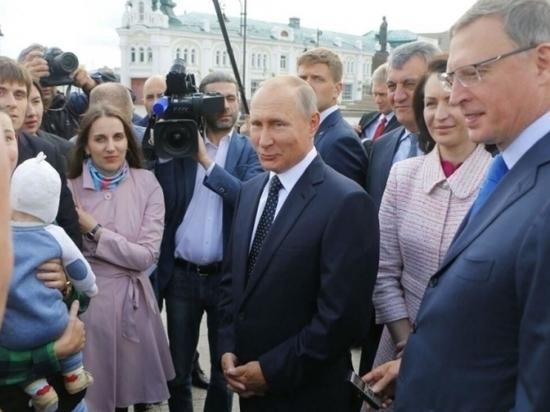Омску дали миллиард к приезду Путина
