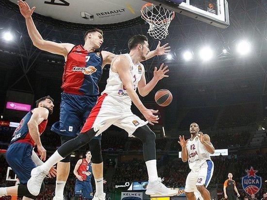 ЦСКА обыграл «Басконию» в третьем матче серии плей-офф Евролиги