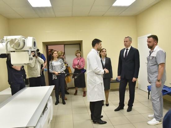 Новосибирский губернатор оценил новый детский трамвпункт