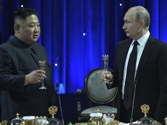Ким Чен Ын пожелал России процветания и уехал