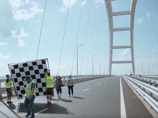 Группа «Любэ» сняла клип про Кубань и Крым, остановив движение по Крымскому мосту
