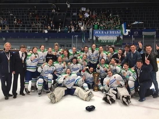 Радий Хабиров поздравил хоккеисток «Агидели» с получением Кубка ЖХЛ