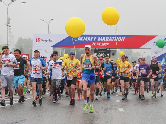 В Алматы марафоне приняли участие бегуны из 53 стран