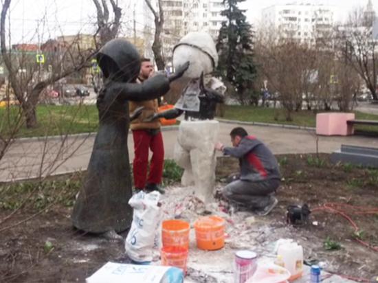 Монумент «Вечная дружба» был похищен в Денкендорфе