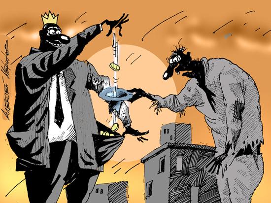 Благосостояние населения все больше зависит от милости властей: ситуация ухудшается