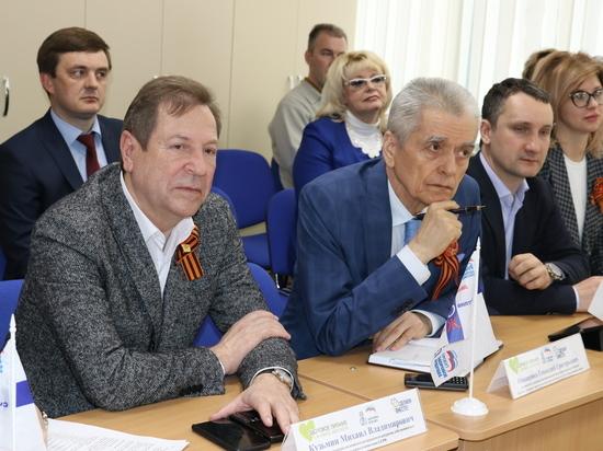 Онищенко приехал в Ставрополь на открытый урок о здоровом питании