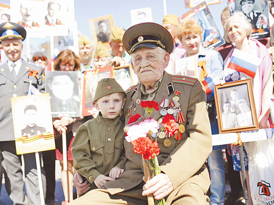 9 мая жители столицы выйдут на марш с портретами отцов, дедов и даже прапрадедов