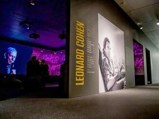Выставка о Леонарде Коэне в Еврейском музее Нью-Йорка