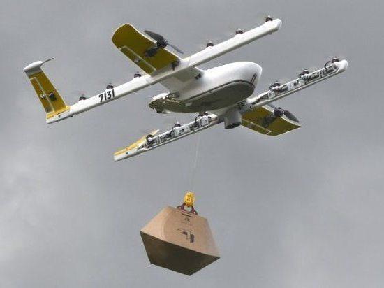 Власти США разрешили доставку посылок беспилотниками