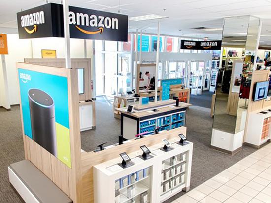 Товары, купленые на Amazon, можно будет сдать в универмагах Kohl's