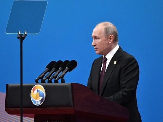 Путин объявил о беспрецедентно высоком уровне российско-китайского сотрудничества