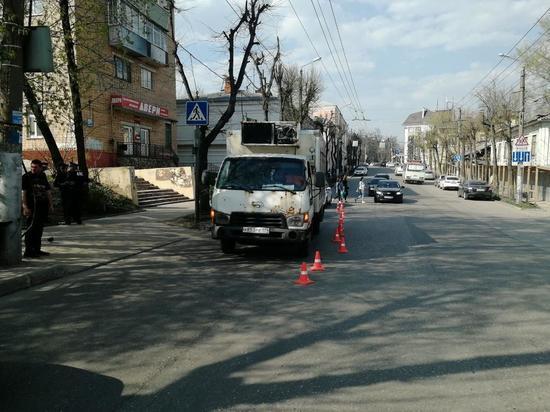 В Калуге 12-летний мальчик попал под грузовик