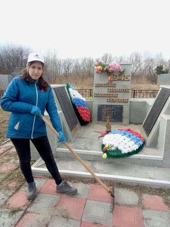 Тюменцы приводят в порядок обелиски и мемориалы