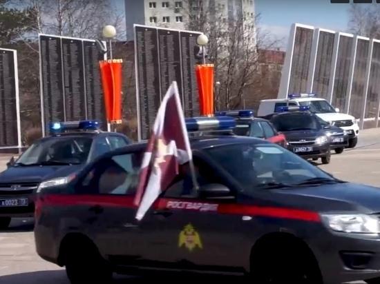 На Ямале стартовал автопробег Росгвардии памяти героев ВОВ