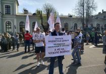 В Пскове во время акции «Сирийский перелом» задержан активист Николай Кузьмин
