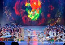 Кубанские коллективы развлекали Путина и Ким Чен Ына во Владивостоке