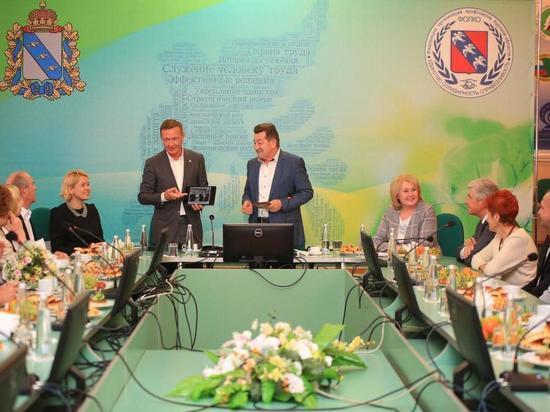 Участником встречи с Романом Старовойтом стала семья работников МГОКа