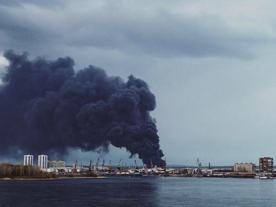 Пожар на красноярском заводе холодильников локализовали