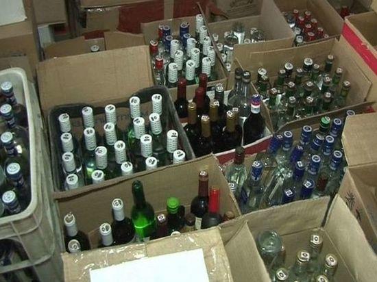 В калмыцких магазинах продают контрафактный алкоголь