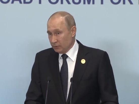 """Российский лидер назвал """"чушью"""" заявления о получении газа по реверсу"""