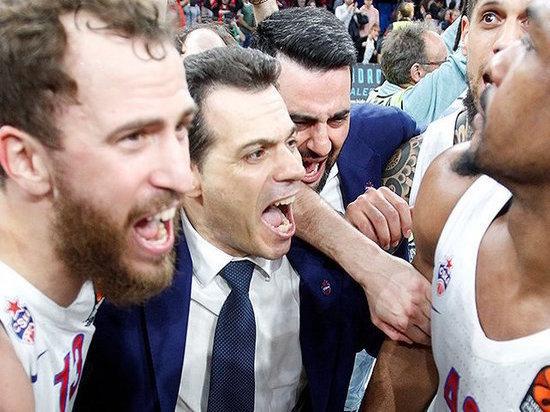 Тренер баскетбольного ЦСКА рассказал, как армейцы отыграли 11 очков и вышли в «Финал четырех».