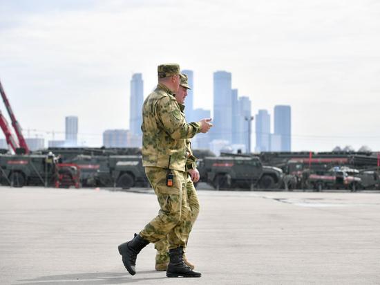 Для участия в параде Победы в Москве разместили 5 тысяч военных