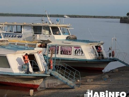 С отмены маршрутов началась речная навигация в Хабаровске